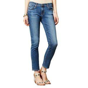 AG Stevie Slim Straight Ankle Jeans, Blue - 26R